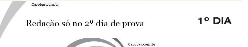 Redação ENEM 2013 PROVA DIA1